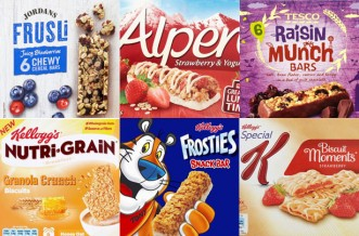 Best and worst cereal bars for your diet