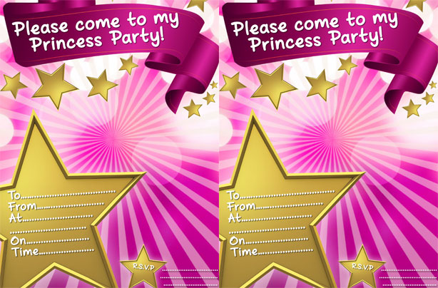 Princess party ideas goodtoknow – Invite a Princess to Your Party
