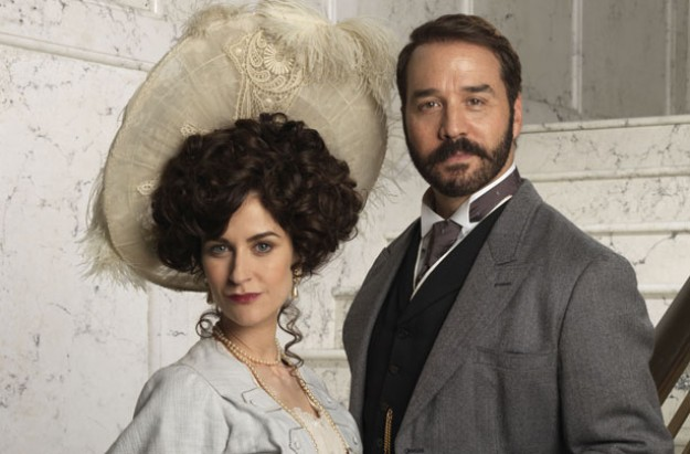 Katherine Kelly and Jeremy Piven