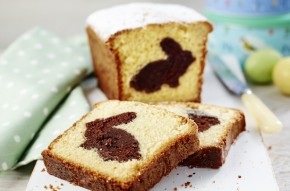 Hiden Easter bunny loaf