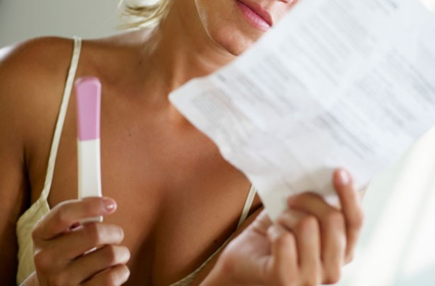 Why can't I get pregnant? Pregnancy test