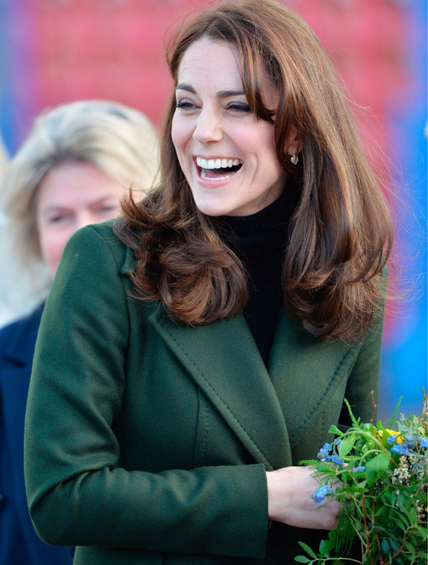 Kate Middleton in Edinburgh February 2016