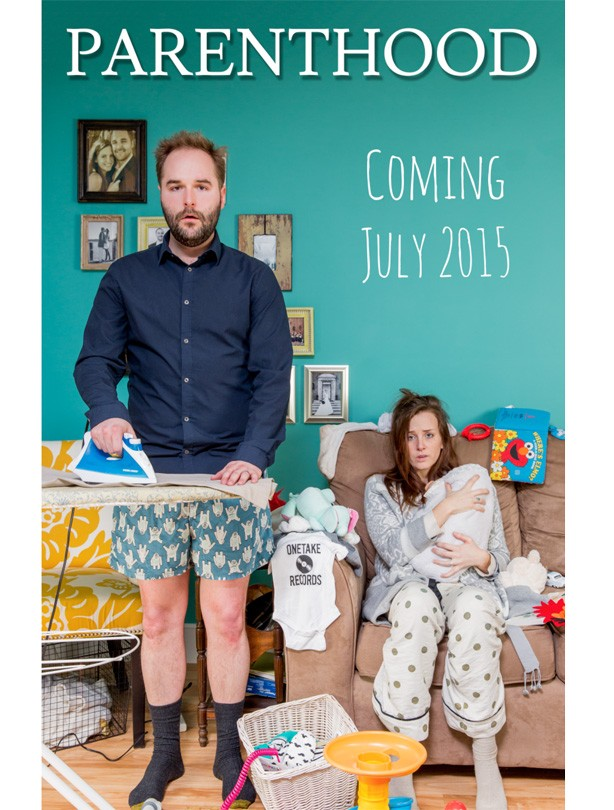 The BEST pregnancy announcements ever Make a movie poster – Best Baby Announcement