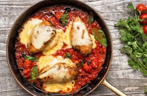 Tomato baked chicken recipe