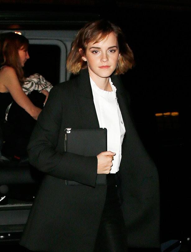 Short haircuts - Emma Watson