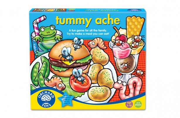 Best board games for kids tummy ache