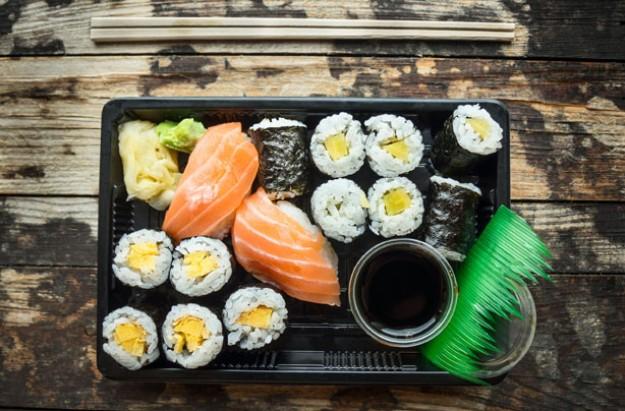 Diet traps sushi