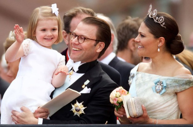 Swedish Crown Princess Victoria's son named Oscar