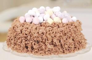Easter nest cake