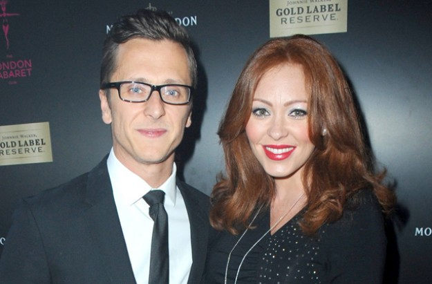 Natasha Hamilton and Ritchie Neville