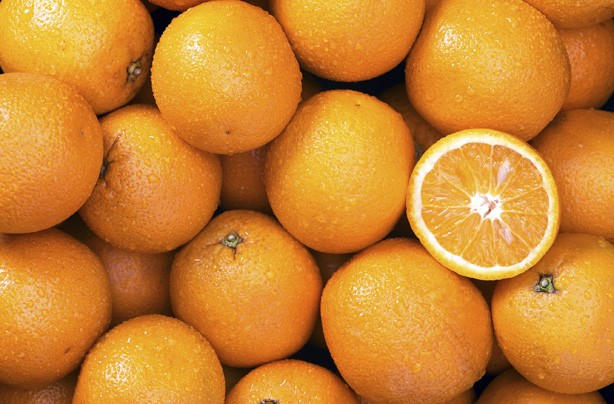 Oranges, fruit, how to get rid of cellulite