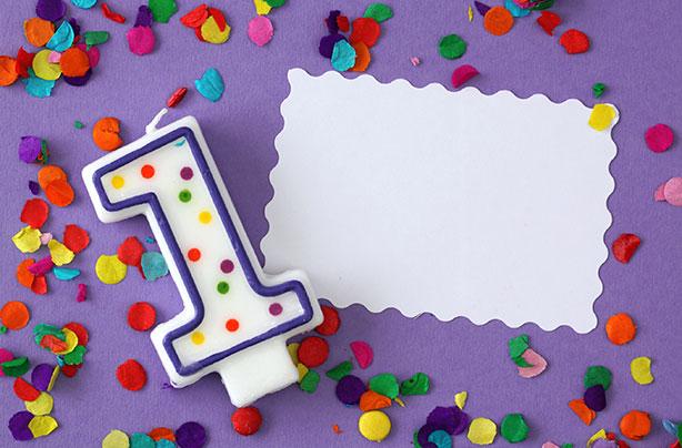 St Birthday Party Ideas Goodtoknow - First birthday invitation card background