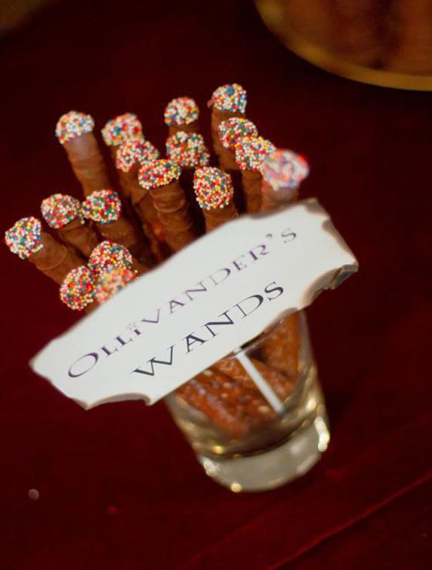 11 Ollivanders Wands Get The Recipe Karas Party Ideas What Would Harry Potter