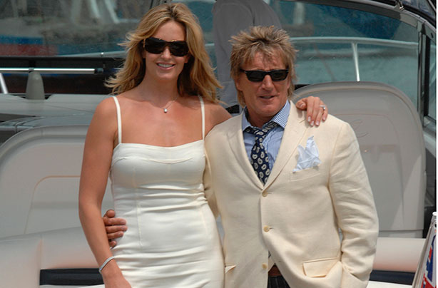 rod stewart and penny lancaster to renew their wedding