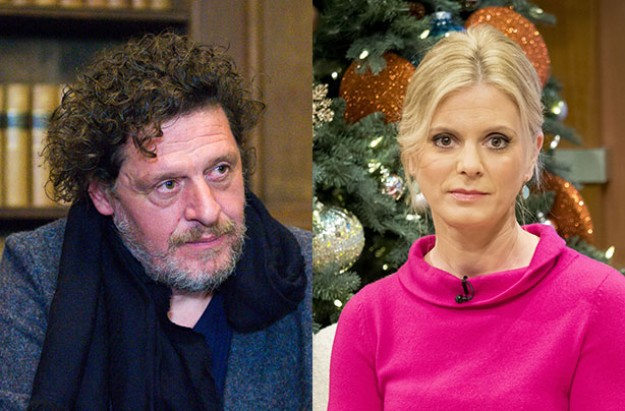 Emilia Fox Marco Pierre White Split