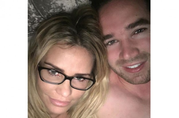 Katie Price shares 'topless' selfie