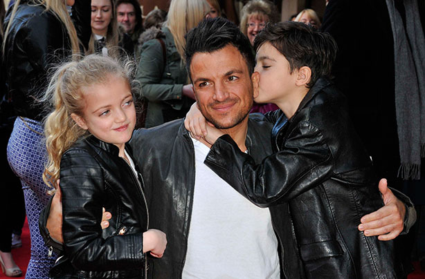Peter Andre On The Baby Tattoo Debate Theyre Just A Bit