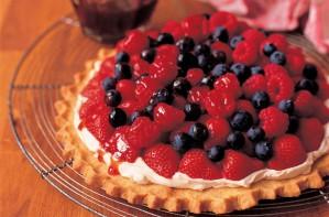 Mary Berry's Midsummer open fruit tart