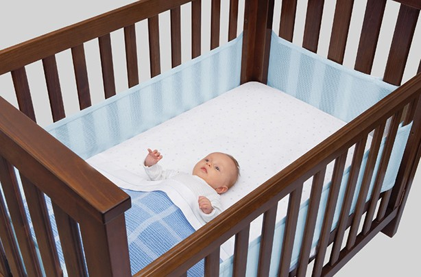 Airwrap bumper baby sleep aids