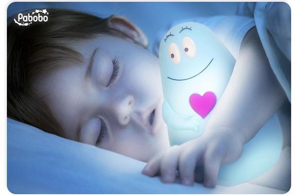 Baby sleep aids Lumilove Barbapapa night light