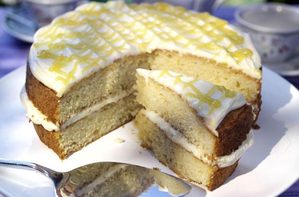 lemon cream cake recipe recipe goodtoknow