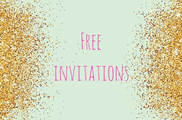 Free Printable Party Invitations  Free Birthday Template Invitations