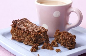 Treacle flapjacks