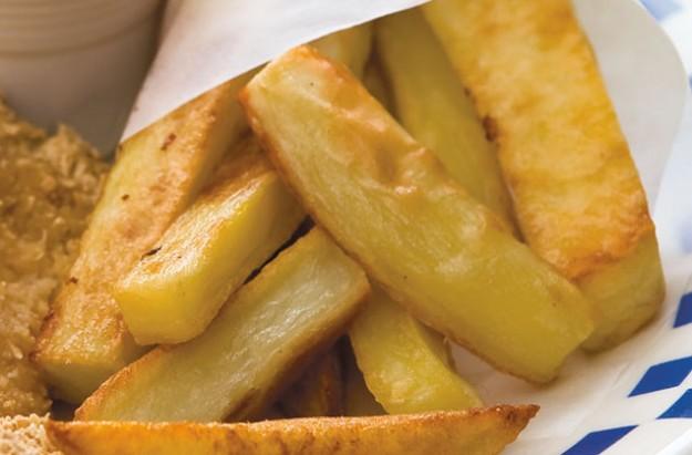 Polenta chips recipe