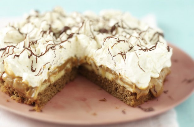 Coffee banoffee pie