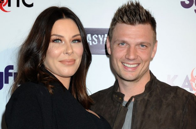 Nick Carter and wife Lauren Kitt