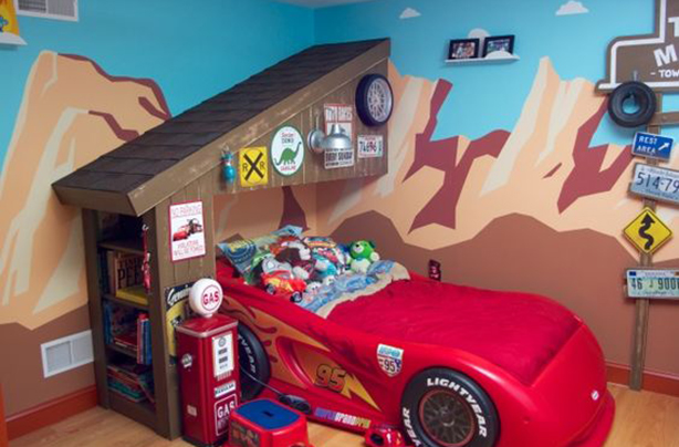 5 this cars fan heaven - Disney Bedroom Designs