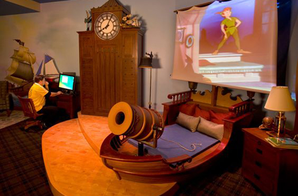 1. This magical pirate ship sleeping spot