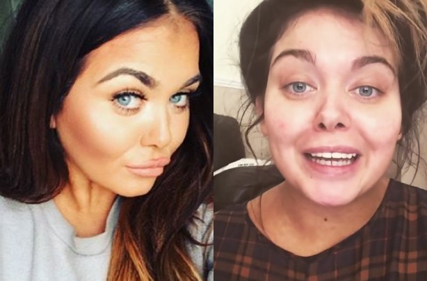 Scarlett Moffatt without make up