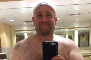 Tony Posnanski, viral body image Facebook post