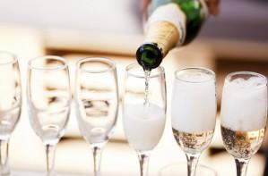 Prosecco, champagne