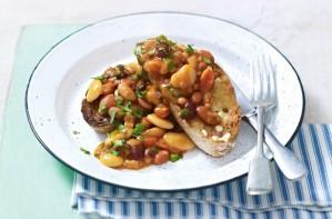 Homemade beans on toast