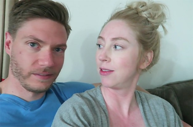 Youtube couple film birth
