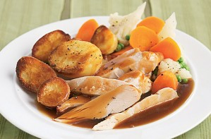 Slimming World's roast dinner