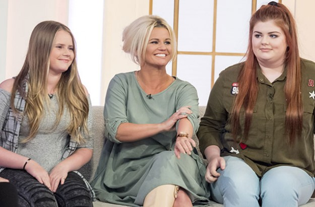 Kerry Katona, Lilly Sue and Molly on Loose Women