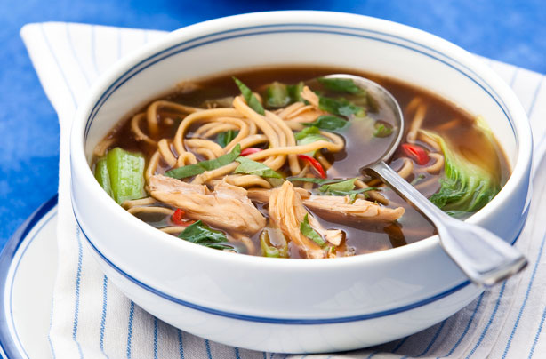 Oriental chicken noodle soup recipe goodtoknow forumfinder Images
