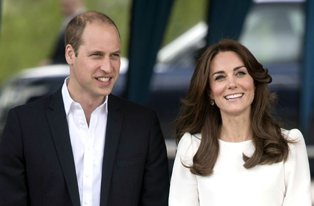 William and Kate 16th May 2016
