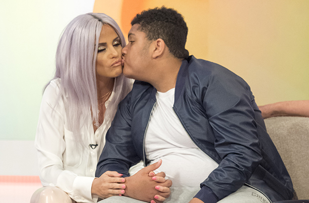 katie price and her son
