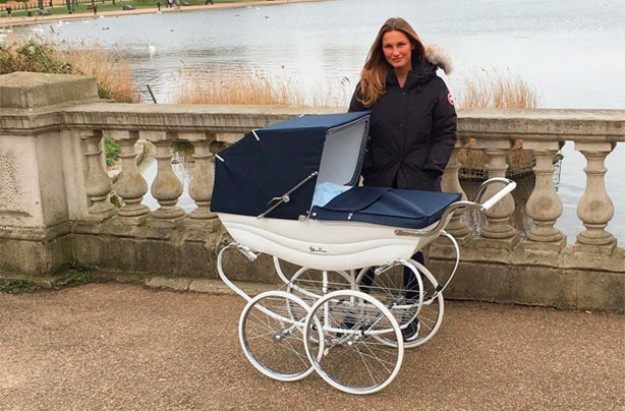 Samantha Faiers faces pram criticism