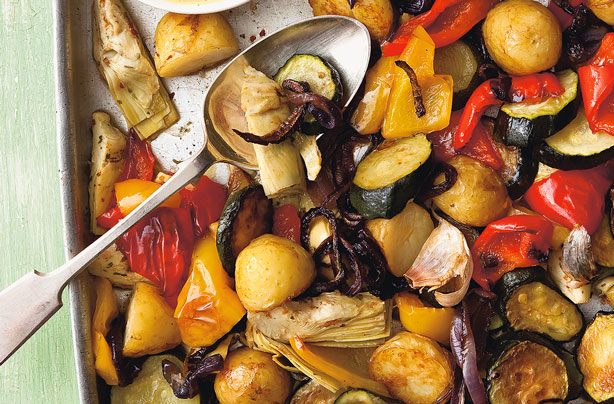 Roasted Mediterranean Vegetables Recipe Goodtoknow