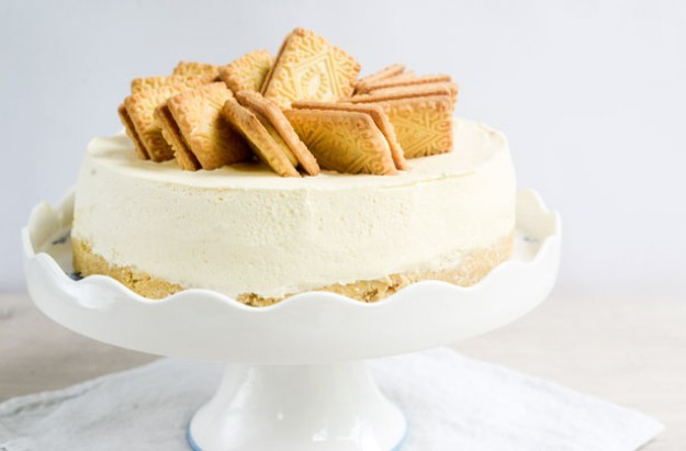 No-bake Custard Cream cheesecake