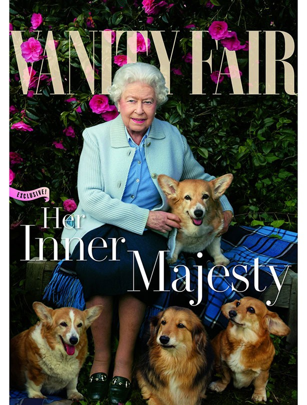 The Queen appears on Vanity Fair cover
