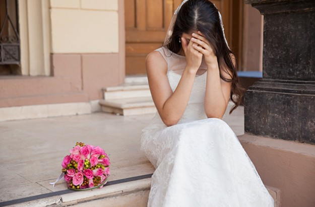 Signs wedding will fail, marriage