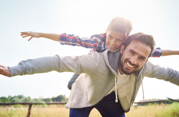 Signs you're the perfect dad, father and son
