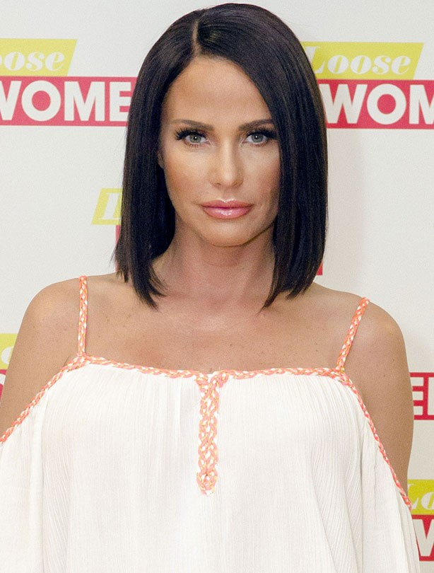 Katie Price new hair