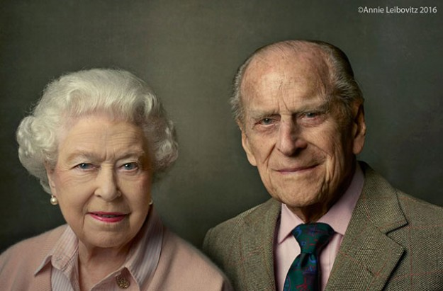 Queen Elizabeth II and Prince Phillip, Annie Leibovitz portrait